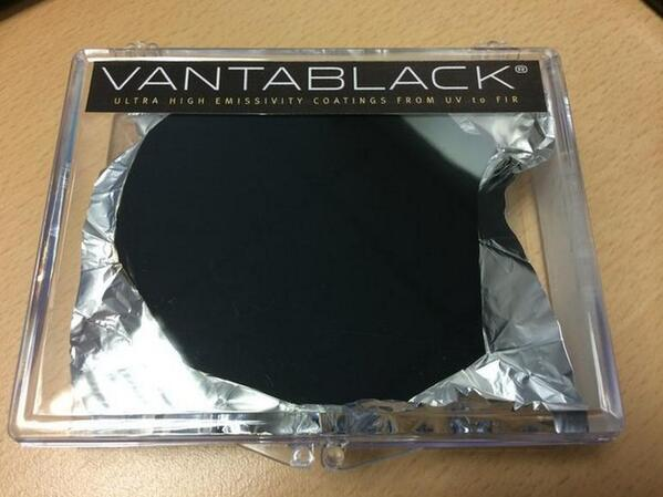 Vantablack: U.K. Firm Shows Off 'World's Darkest Material'