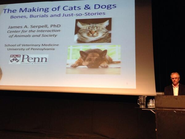 Thumbnail for Feline & Canine Science Forum, Public Lecture: James Serpell