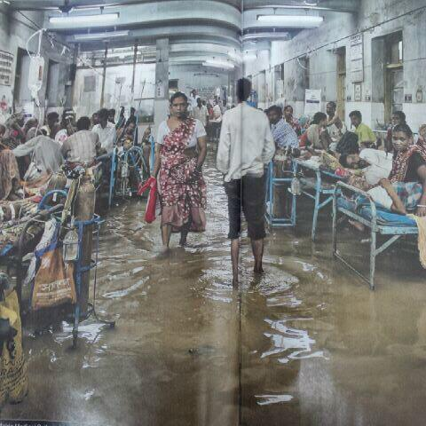 Saw this picture in India Today of a hospital in WB. If this doesn't shake us, are we alive? http://t.co/LrA2VspLjF