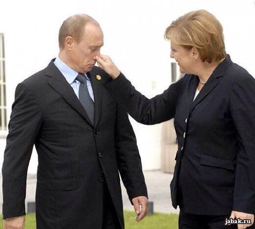 Картинки по запросу Меркель и Путин - фотожаба