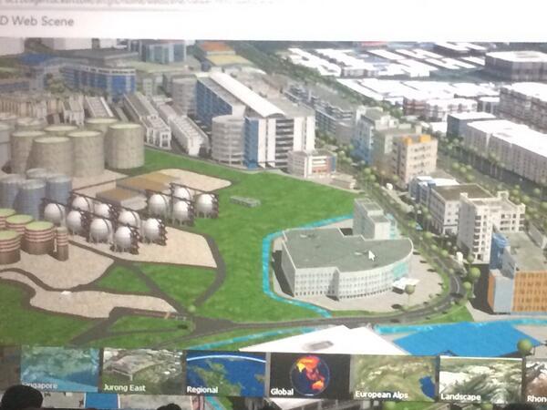 Goodbye Flash! > @brentaporter: #EsriUC #GIS 3D web scenes w/ #arcgis server, new web service! Browser, no plugins http://t.co/UbgfCyoeSI