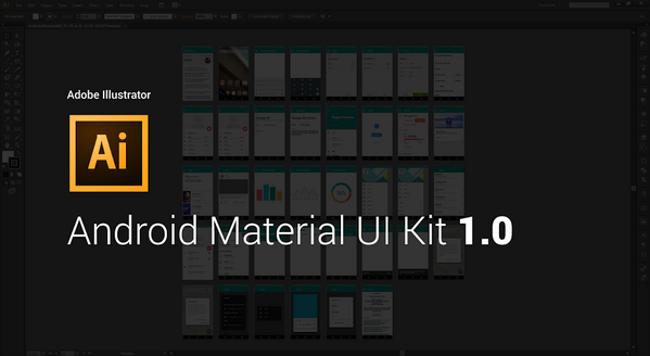 Here is the first version of #Android Material #Illustrator Kit. http://t.co/MPFdKrLfFf #AndroidDev http://t.co/Pp1oDrTQMV
