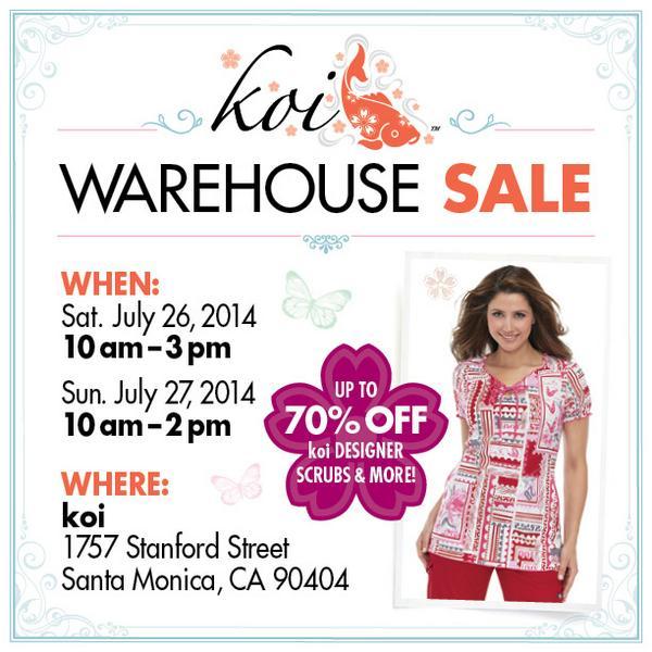 Koi design llc koistyle twitter for Koi warehouse sale