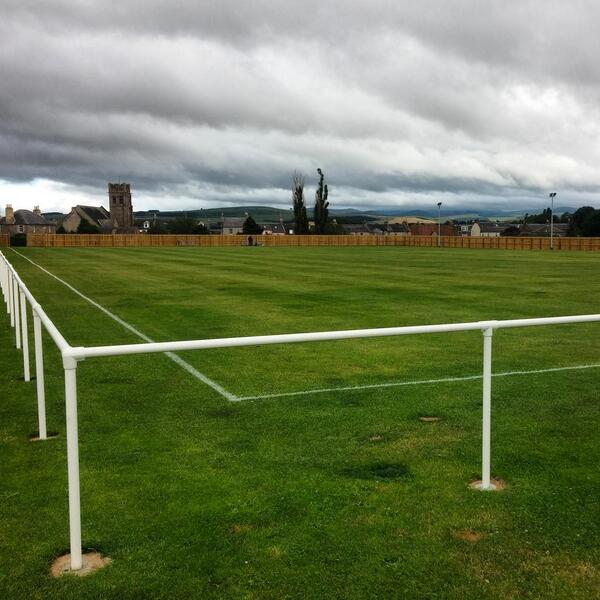 Coldstream FC On Twitter Home Park Is Looking Fantastic Tonight There Cant Be Many Grounds With A View Like This
