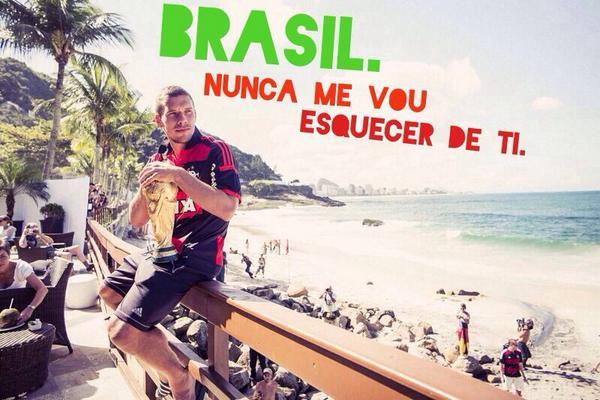 Brazil. I will never forget u !! #FicaPodolski #poldi #aha #brazil #worldchampion2014 #obrigado http://t.co/LzDJXwUuXz