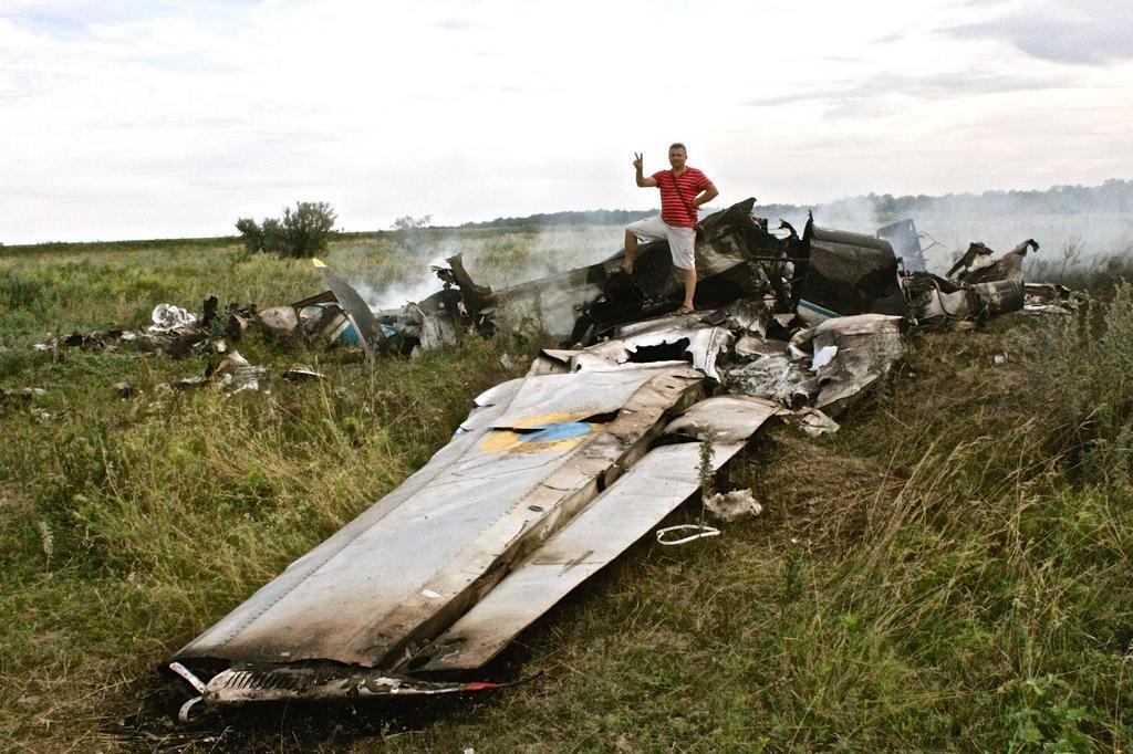 Украинский самолет был сбит российской ракетой, - источник - Цензор.НЕТ 4294
