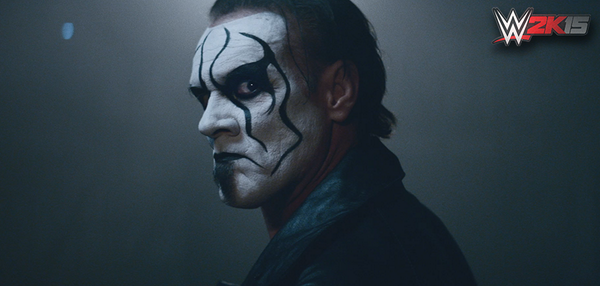 IT'S SHOWTIME: Sting has arrived in @WWE and he's coming to #WWE2K15. Pre-order today. http://t.co/dhkjXxh953 #FEELIT http://t.co/pIiPXo0HGQ