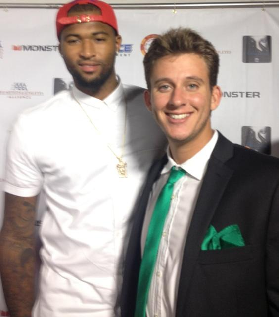 With the best big man in the league Demarcus Cousins (@boogiecousins) on the red carpet http://t.co/3q0jQrogvX