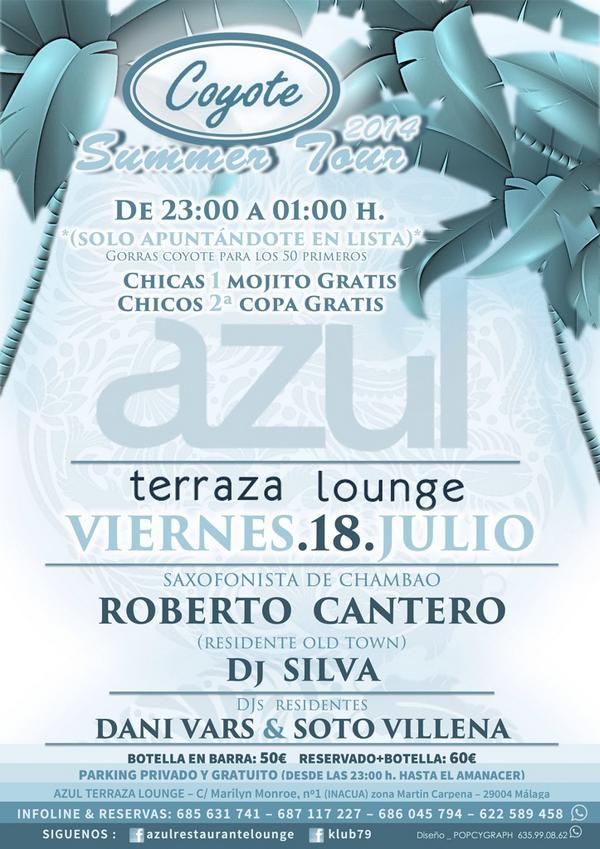 Azul Terraza Lounge Azul Actualidad Twitter