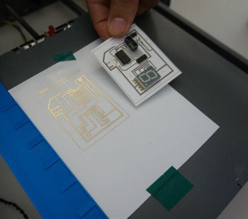 Squink Lets You Print A Circuit Board For The Price Of Cup Coffee