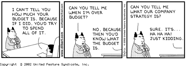 "Never happened to me. No sir. RT @faris: ""Just give us some ideas, if we like them we'll find budget"" http://t.co/Wbi2zT71vx"