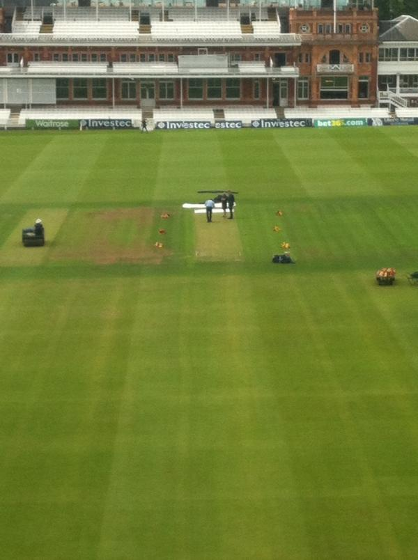 green pitch at lords with pics cricket talk indian cricket fans
