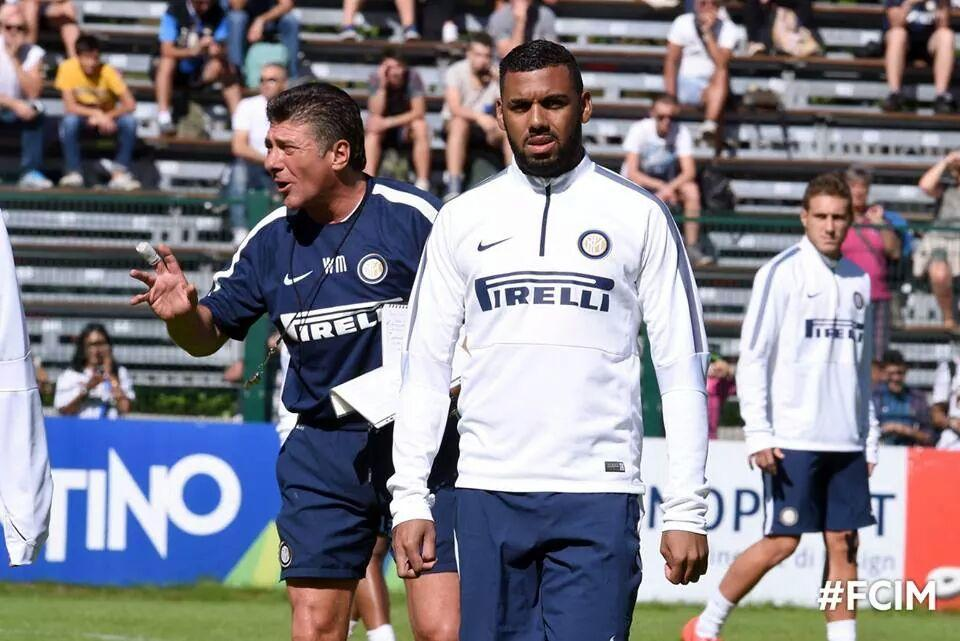 VIDEO – M'Vila trains with Inter
