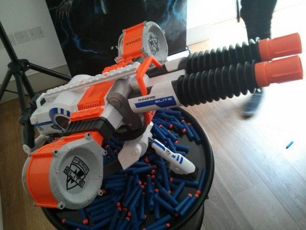 WORLDS LARGEST NERF GUN ARSENAL!