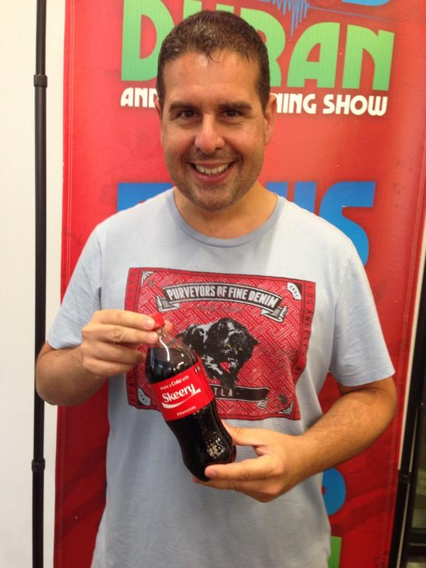 Skeery Jones Sur Twitter Thanks Cocacola For The Only Bottle Of