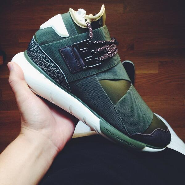 1c5502324 ... ADIDAS Y-3 QASA HIGH OLIVE DRAB FOR RETAIL httpbit.