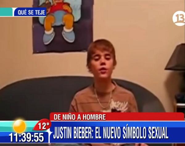 AHORA: El cover de Chris Brown que lanzó desde YouTube a la fama a Justin Bieber, en #Bienvenidos13. Dale RT! http://t.co/rvY3pBhgNZ