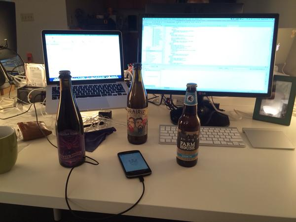 I bet your work desk doesn't look like this! @pintlabs http://t.co/FuVVgUAF4J