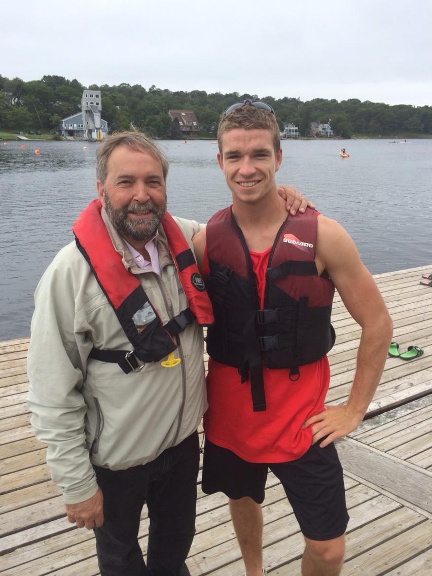 Lewis Rowing Club Mic Mac Rowing Club Coach