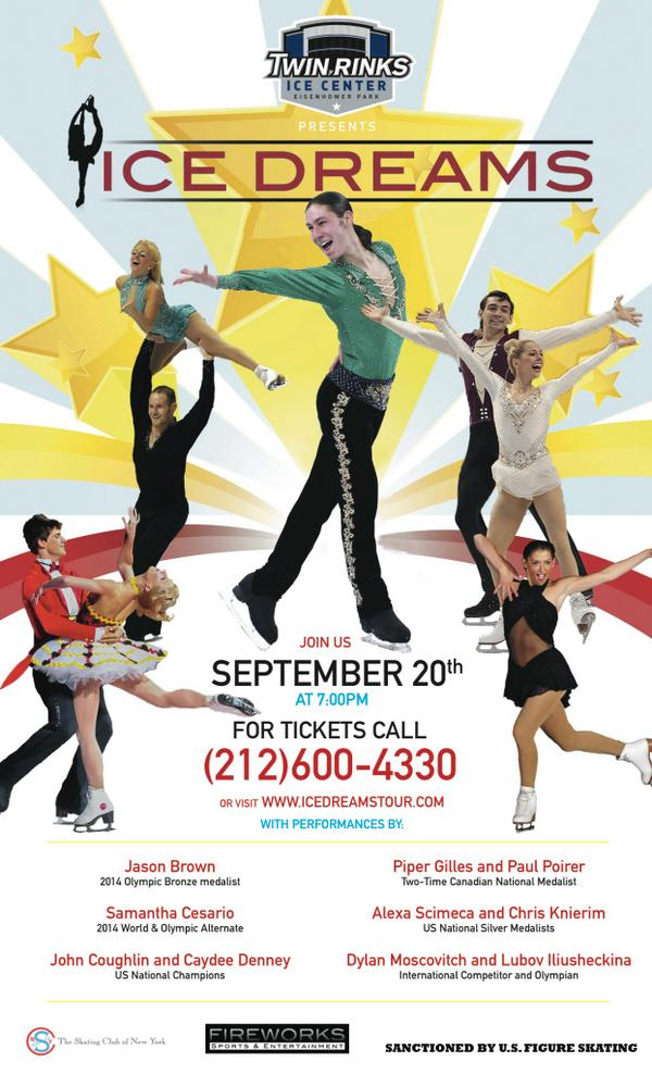 """""""@IceDreamsTour: starring @jasonbskates ! Buy tickets or sign up to skate with our Olympians and national champions! http://t.co/DN6vrPvOoo"""""""