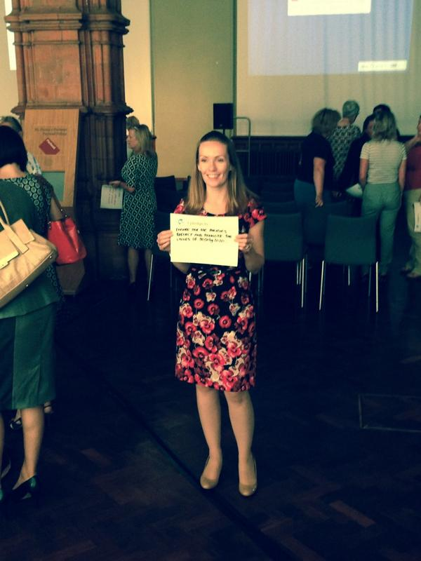 @womenspire's very own @LornaVirgo making her pledge @5050by2020 #5050by2020 http://t.co/glb6Ckv8GN
