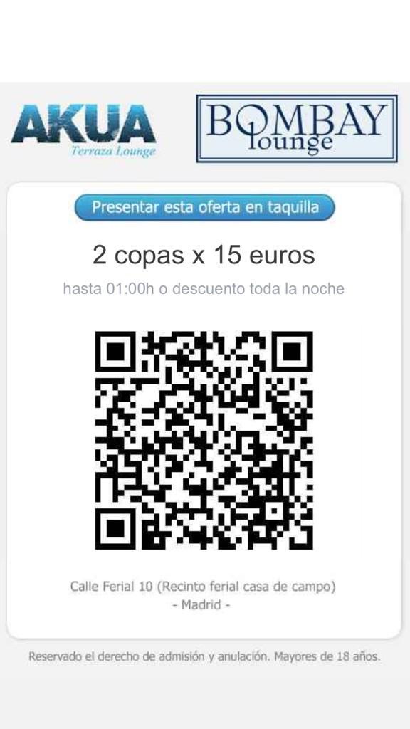 Terraza Akua Madrid On Twitter Esto Es Lo Que Tenemos