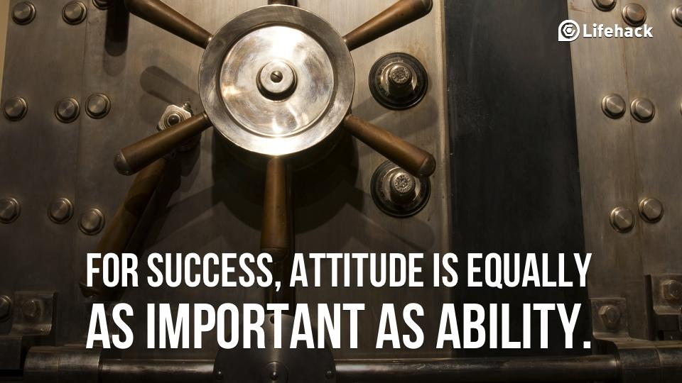 Twitter / zaibatsu: For success, attitude is equally ...