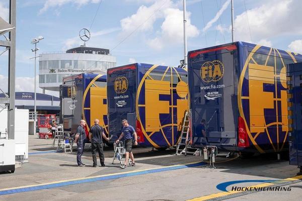 Die @F1 kommt.. Macht euch bereit für's Wochenende! // The @F1 is coming... Get ready for the weekend! #GermanGP #F1