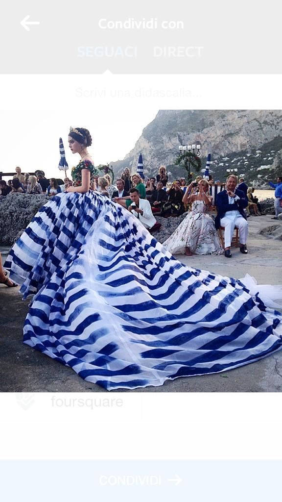 Dolce & Gabbana's Capri Fashion Show Was Even Stunning On Twitter
