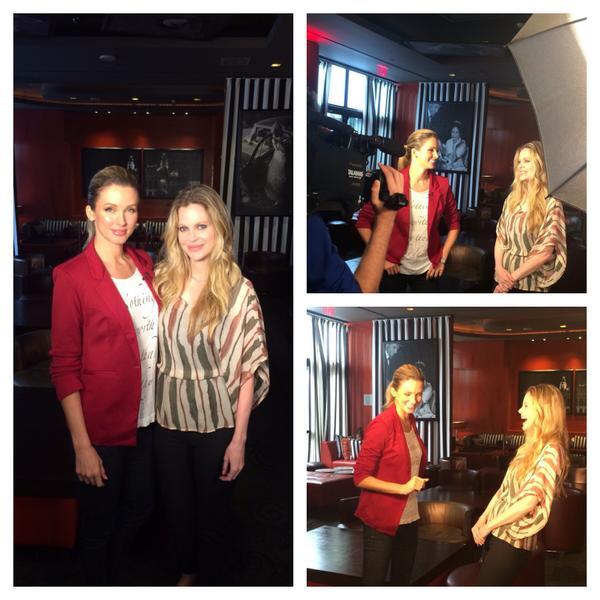 """Such a fun time! RT""""@ValentineGroup: OK!TV w/True Blood's Kristen Bauer @BauervanStraten @SofitelLA @ShandiFinnessey http://t.co/RFBZ6FdkKI"""""""