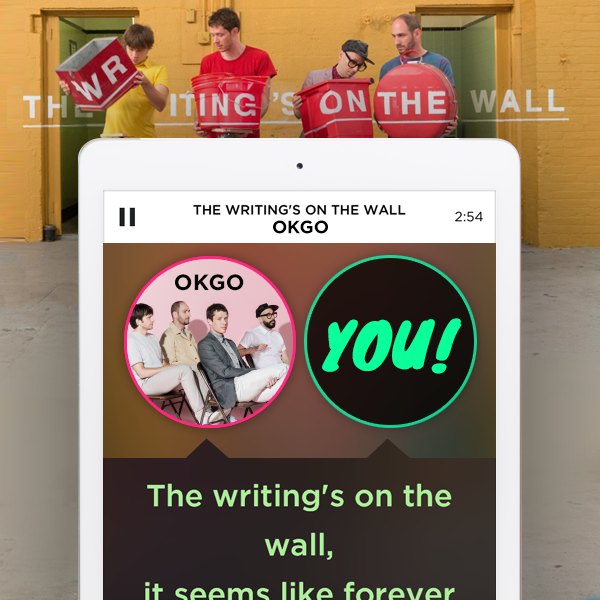 Twitter / smule: The #OkGo contest just concluded ...