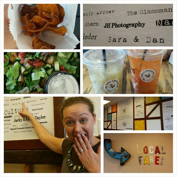 Loved the new fresh and local restaurant, Fowl and Fodder on Central Ave! #toledo #toledolocalbusinesses #youwilldobe http://t.co/y3b0jfPaMs
