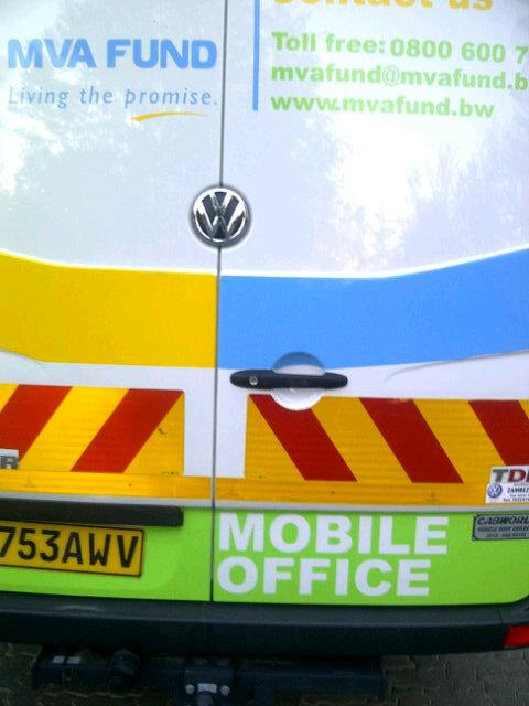 #Botswana takes service delivery to its highest level. The Motor Vehicle Accident Fund #MVAF uses this Mobile Office. <br>http://pic.twitter.com/QPUbBWt9fN