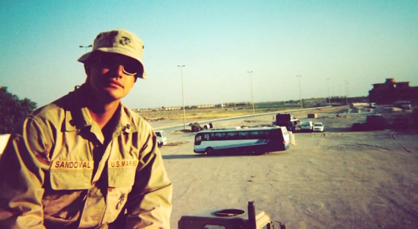 Watch how 1st Sgt. Simon Sandoval overcame #PTSD after returning from #deployment: http://t.co/i89cBgBIjE @USMC http://t.co/RhT9Tonexk