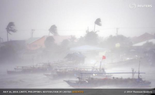 Immagine Tifone Filippine