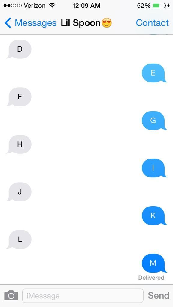 late night conversations