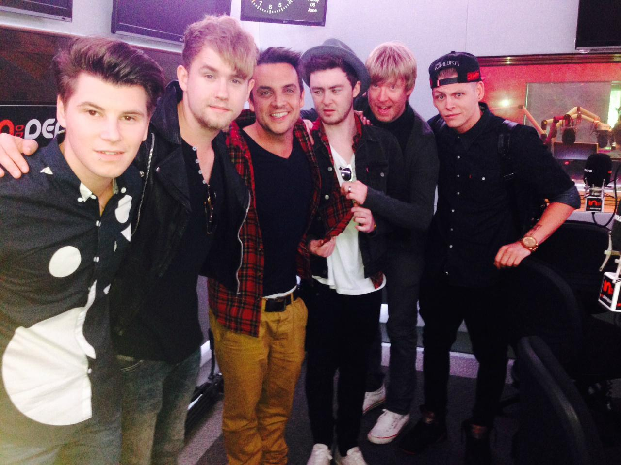 RT @KEY103: M&C: Morning! @RixtonOfficial are live from 8:30am hopefully Mike won't wear the same shirt as Jake again! http://t.co/1TrRUTGz…