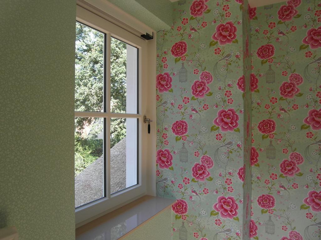 Stijlaart schilders on twitter de groene kamer behang van pip studio - Behang volwassene kamer behang ...