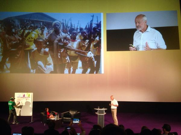 #okfest14 keynote: @anticorruption introduces Patrick Alley, @Global_Witness on using information to drive change http://t.co/wP16OrMvWI