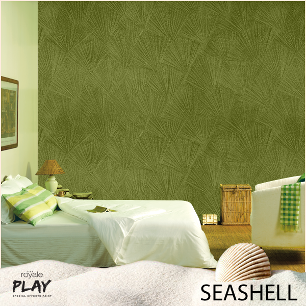 Asian Paints On Twitter Adorn Your Living Room Walls With This Seashell Effect From Our Royale