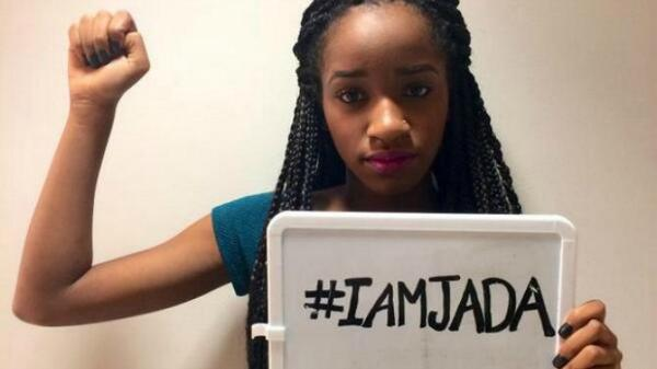 Support #IAMJADA #Rape, Bullying-not funny or acceptable #JusticeforJada I am #Proud #Brave young lady Please Retweet http://t.co/hZMq6Dfkun