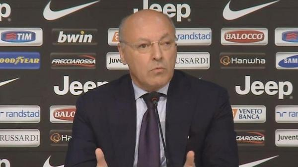 Juventus CEO Guiseppe Marotta: Arturo Vidal is not for sale. Hes happy to stay here