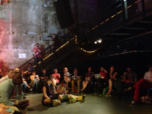 This could be #okfest14 or the studio for an industrial German electronica album or experimental theatre http://t.co/K47AwlZoj6