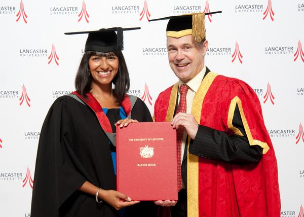 Congratulations to journalist and presenter @ranvir01 who received our Alumni Award this afternoon! #LoveLancaster http://t.co/xbLXzewHrf