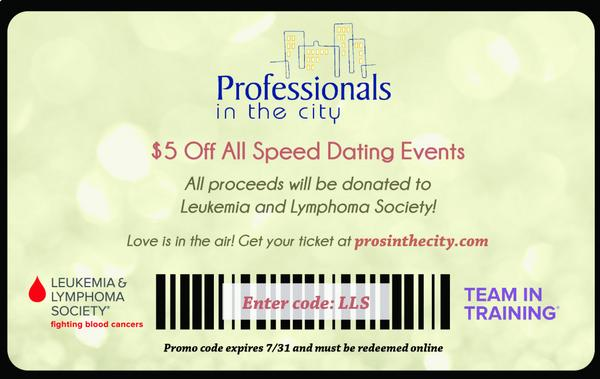 I speed dating Promo-Code
