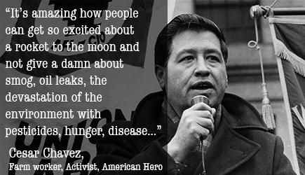 Image result for cesar chavez quotes