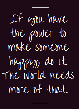 Twitter / AdrienneSmith40: If you have the power to make ...