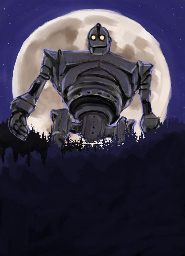 Could NOT resist a quick #TheIronGiant for #WacomWednesday ! I love this film. <3 @Sketch_Dailies http://t.co/ZOcCWuMFVr
