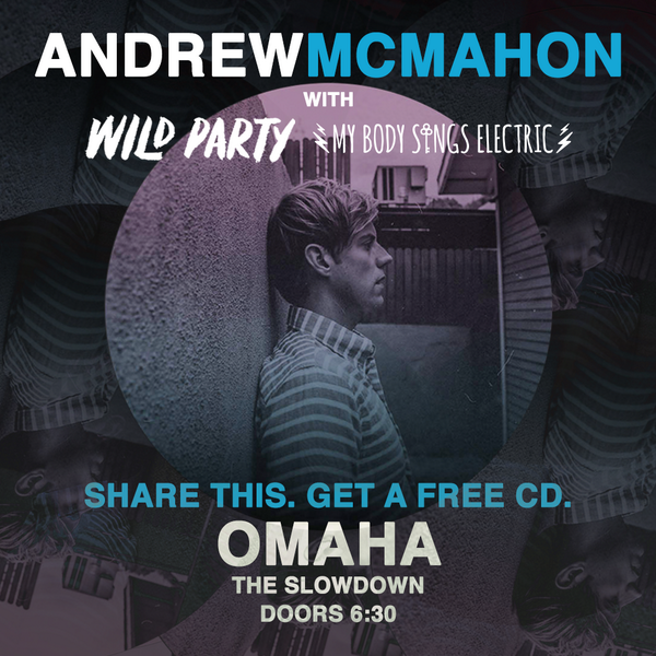 Omaha! It's our last night on tour with @andrewmcmahon. Let's make it a special night at @theslowdown: http://t.co/4HhRZWhMbp