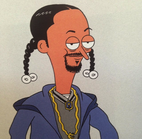 Here's a rough @SnoopDogg design @PunksGitCut worked up! #SanjayandCraig #StreetDogg #Nickelodeon http://t.co/c1p4zH2xsg